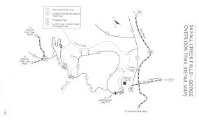 fall creek falls map wht3 tennessee houseboat trip