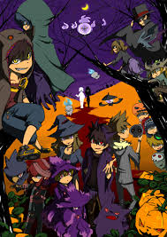 pokemon halloween background
