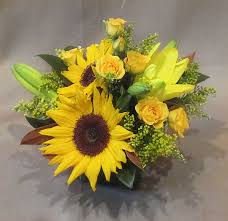 sunflower centerpiece and sunflower centerpiece floral accents