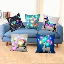 favorable sofo lighting lanterns pillow cover led lights