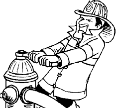 fireman hat coloring pages firefighter profession coloring pages