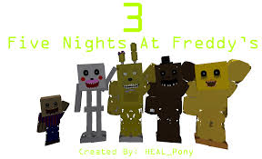 heal pony u0027s five nights at freddy u0027s 3 minecraft edition demo