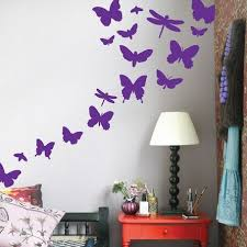 Stickers For Walls In Bedrooms by Best 25 Butterfly Wall Stickers Ideas On Pinterest Butterfly