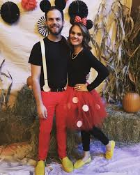 costumes for couples mickey and minnie mouse costume