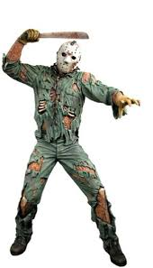 Jason Voorhees Halloween Costume Amazon Neca Friday 13th 18 Deluxe Motion Activated