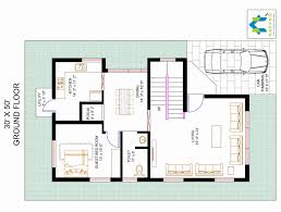 new floor plans 30 50 house plans 3 bedroom new 3 bhk floor plan for 30 x 50 plot