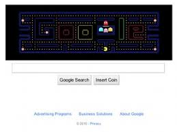 doodle pacman pac at abc news archive at abcnews