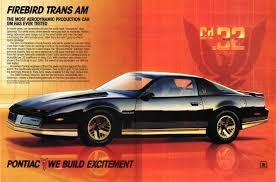 Last Year Of Pontiac Firebird Most Aerodynamic 3rd Or 4th Gen And What Year Third Generation