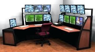 Computer In Desk Computer Desk For 2 Monitors Coolest Computer Desks Best Desk For