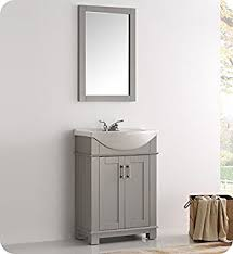 41 Bathroom Vanity Fresca Fvn2302gr Cmb Hartford 24 Gray Traditional
