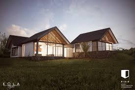 Modern Barn by Modern Barn House Visualization Freelancers 3d
