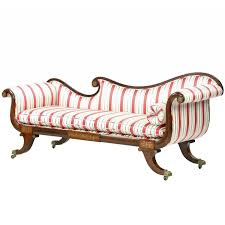 Antique Chaise Lounge Sofa by English Regency Brass Inlaid Antique Recamier Sofa Chaise Longue
