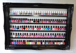 nail polish rack display frame beauty u0026 make up display and