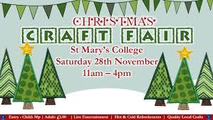 christmas craft fair 2015 st mary u0027s college
