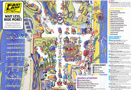 cedar fair parks map cedar point 2012 park map