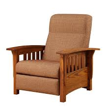 classic mission recliner by dutchcrafters amish furniture