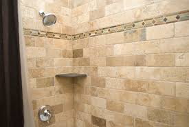 Tile Ideas For A Small Bathroom Bathroom Remodel Tile Accent Burke Fairfax Intended Decorating Ideas