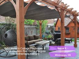 How To Make Your Own Retractable Awning Outdoor Living Today 12x16 Breeze Pergola Retractable Canopy