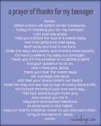 a prayer of thanks for my rachelwojo