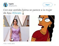 Salma Hayek Meme - noticias espectaculos llueven los memes por el vestido de salma hayek