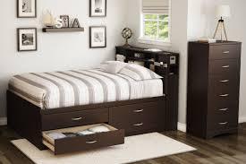 Bed Frame With Storage South Shore Full Storage Platform Bed U0026 Reviews Wayfair