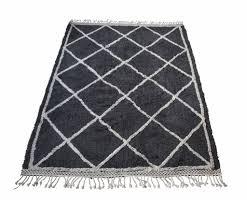 snowdrops copenhagen berber style rug u0027oslo u0027 grey u0026 white