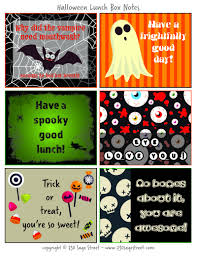 free printable halloween lunch box notes 730 sage street