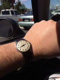 own a watch with some aspect that no one would know by looking