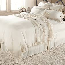 Ruffle Duvet Cover Full Ava Ruffle Bedding Arhaus Furniture