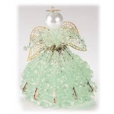 Birthstone Ornament Mary Maxim Beaded Birthstone Angel Kit