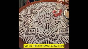 Crochet Table Cloth Free Crochet Tablecloth Patterns Easy Gallery Craft Pattern Ideas