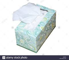 box of tissue paper box of tissue paper or kleenex cutout stock photo 34423483