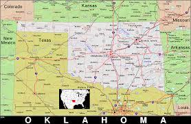 Kansas City Zip Code Map Ok Oklahoma Public Domain Maps By Pat The Free Open Source