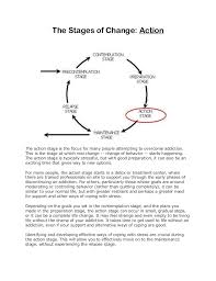 the stages of change an addiction treatment model of care