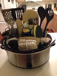 wedding gift cost success crock pot basket for raffle