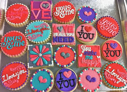 Valentine Decoration Ideas On Pinterest by 58 Best Decorated Cookies Valentines Images On Pinterest