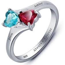 best mothers rings images Custom promise rings great prices get the perfect gift think JPG