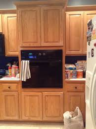 Kitchen Oven Cabinets What Color Should We Paint Our Oven Cabinet In Two Toned Kitchen Or