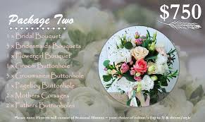 wedding flower packages wedding flower packages hooked on wedding florals