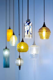 lighting stores in asheville nc hand blown art glass pendant lights made in the mountains of