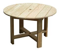 Outdoor Patio Table Plans by Round Wooden Patio Table Starrkingschool