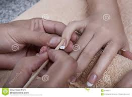 manicure cuticles removal stock photo image 51086577