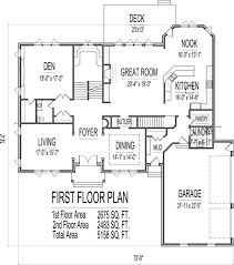 5 bedroom floor plans 2 story 5 bedroom 2 story 5000 sq ft house floor plans and brick
