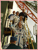 soyuz tm 34 mission to the iss