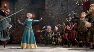princess film queen scotland red hair pixar merida brave movie