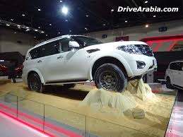 nissan patrol 2016 2016 nissan patrol desert edition revealed at dubai motor show