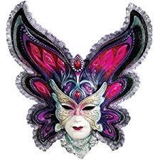 mardi gras wall masks design toscano maidens of mardi butterfly maiden gras wall mask
