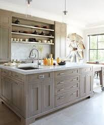 light grey kitchen with oak cabinets light grey washed cabinets remodel stained