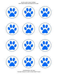 32 blues clues birthday printables images