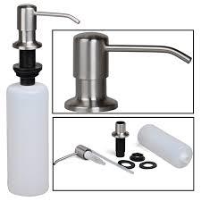 built in soap dispensers amazon com kitchen u0026 bath fixtures